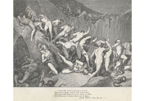 the concept of nakedness in the divine comedy by dante alighieri