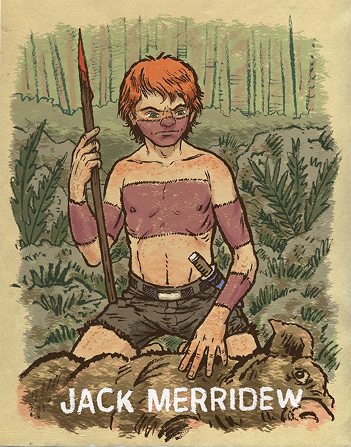 an analysis of the character jack in lord of the flies by william golding